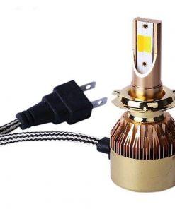 لامپ هدلایت خودرو مدل D5H7 سه رنگ بسته 2 عددی
