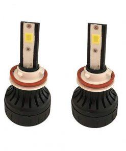لامپ هدلایت خودرو مدل dan H11 بسته دو عددی