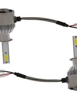 لامپ هدلایت خودرو مدل C6 H1 بسته دو عددی