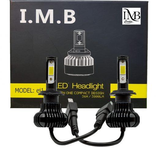 لامپ هدلایت خودرو آی ام بی مدلEJ1 بسته 2عددی