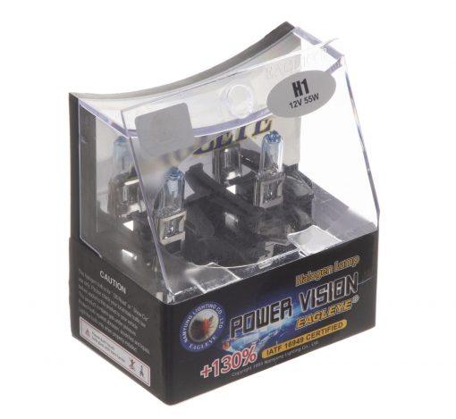 لامپ هالوژن خودرو ایگل مدل H1 کد 001 بسته 2 عددی