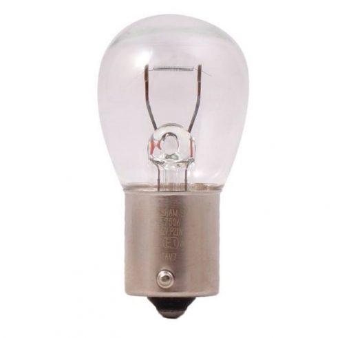 لامپ خودرو اسرام مدل P21W 12V 21 W Original 7506 بسته 10 عددی