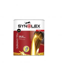 روغن موتور خودرو سینولکس مدل راش 5W-40 SN ظرفیت 5 لیتر
