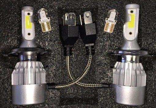 لامپ هدلایت A9 مدل H1 بسته چهار عددی