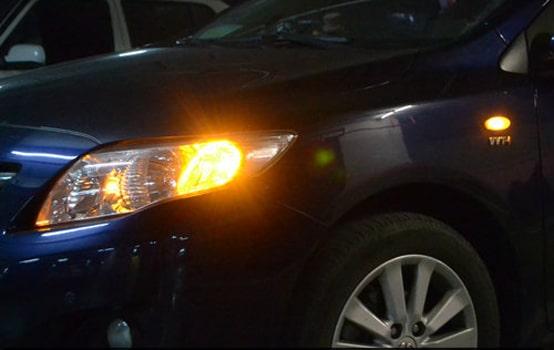 چراغ راهنمای خودرو