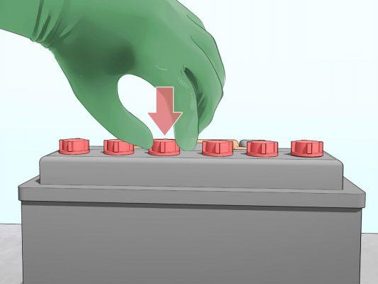 باتری اسیدی خودرو - آب باتری خودرو