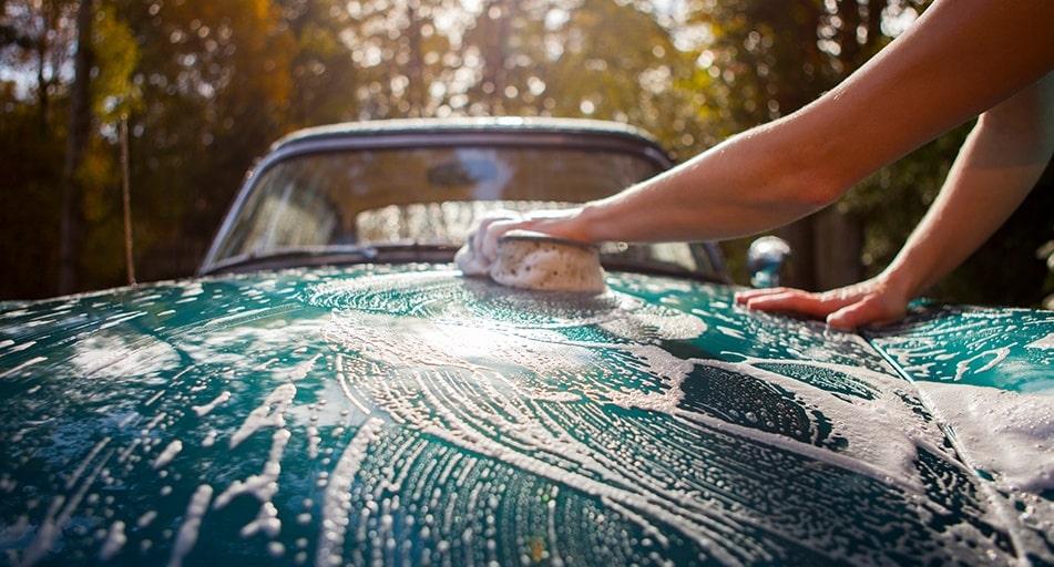 روش صحیح شستشوی خودرو - شستشوی ماشین در منزل